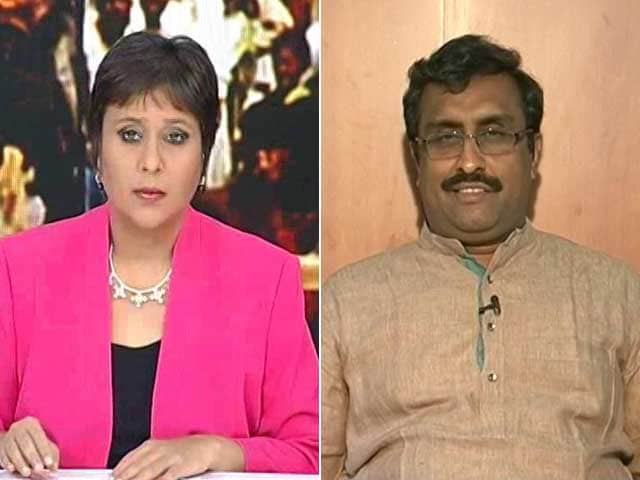 Video : Made History In Assam, Learnt Lessons From Delhi And Bihar: Ram Madhav