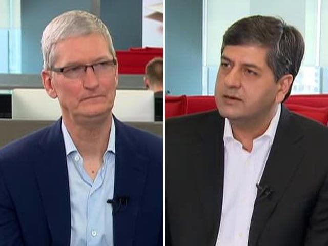 Video : Tim Cook to NDTV: We Won't Compete on Prices, That's Not Us