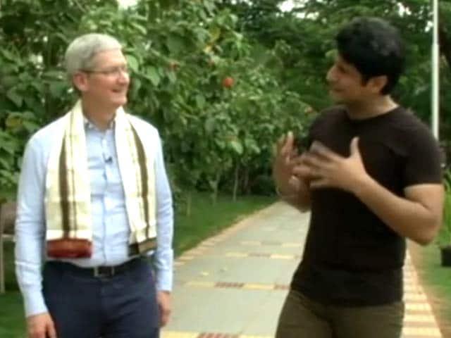 Videos : सेल गुरु : ऐप्पल ने हमेशा क्रिएटिविटी को बढ़ावा दिया है - Apple सीईओ टिम कुक