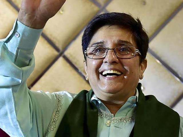 Video : Former Delhi Top Cop Kiran Bedi Appointed Puducherry Lieutenant Governor