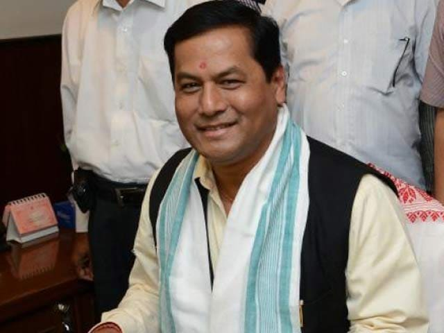 Video : PM, A Lakh People At Sarbananda Sonowal Oath In Assam Today