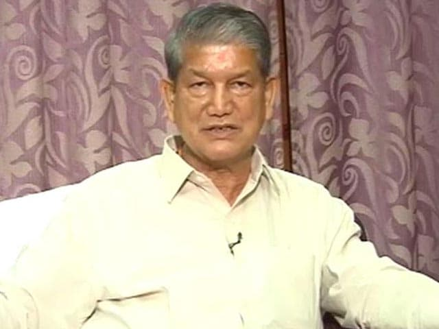 Video : Sting Operation: CBI Questions Harish Rawat For Nearly 5 Hours