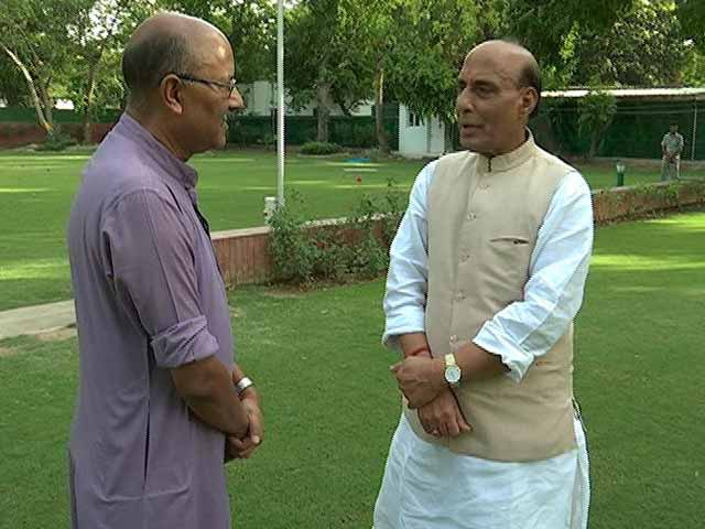 Video : Home Minister Should Not Speak Much: Rajnath Singh To NDTV