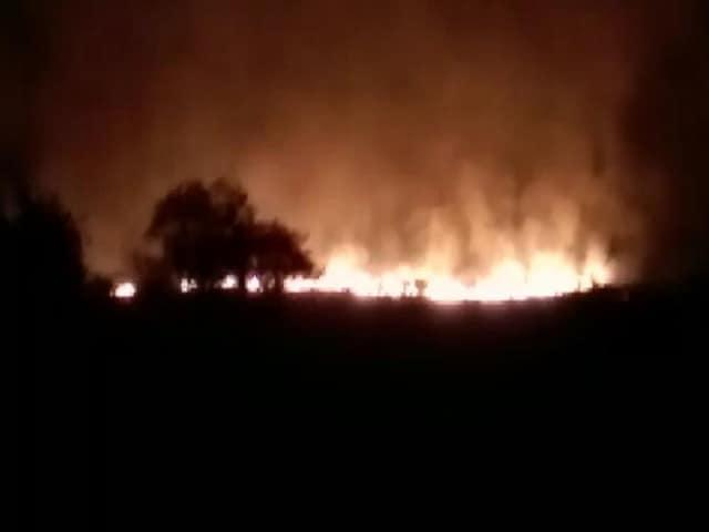 Videos : महाराष्ट्र के वर्धा जिले के पुलगांव में हथियार डिपो में आग