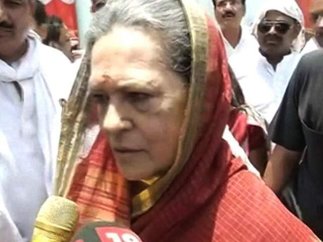 Video : Conspiracy, Says Sonia Gandhi After NDTV Reports On Robert Vadra Inquiry