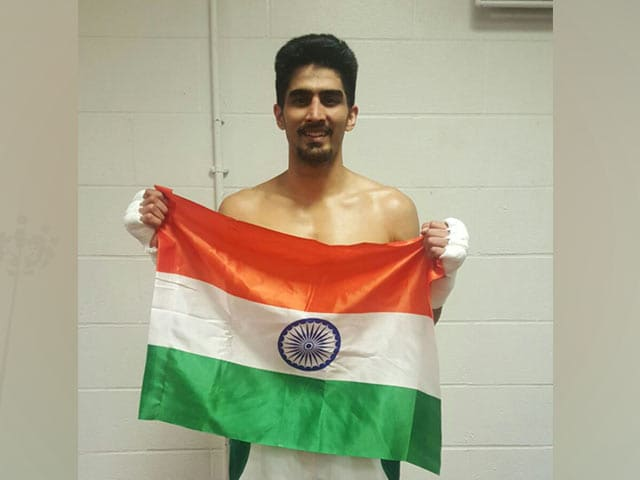 Video : Vijender Singh Keen to Box in Rio But Feels Left in The Lurch