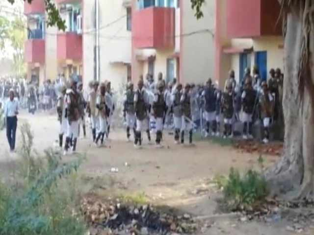 Video : In Mathura, An Obscure But Armed Cult Strikes, Then Politics Follow