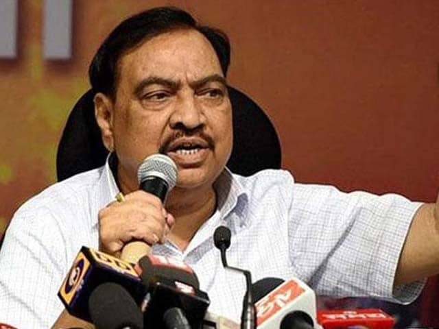 Video : Eknath Khadse Gives BJP What It Sought, Resigns As Maharashtra Minister