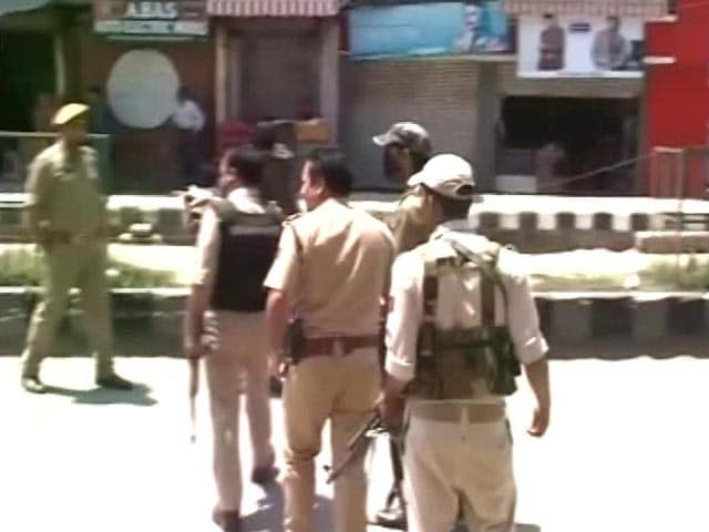 Video : 2 Cops Killed In Terrorist Attack In Jammu And Kashmir's Anantnag