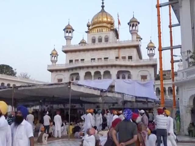 Video : Amritsar On Alert On Anniversary Of Operation Bluestar