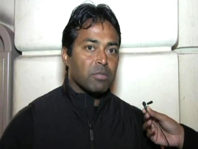 Video : Winning Grand Slam Title Ahead of Olympics Relevant: Leander Paes