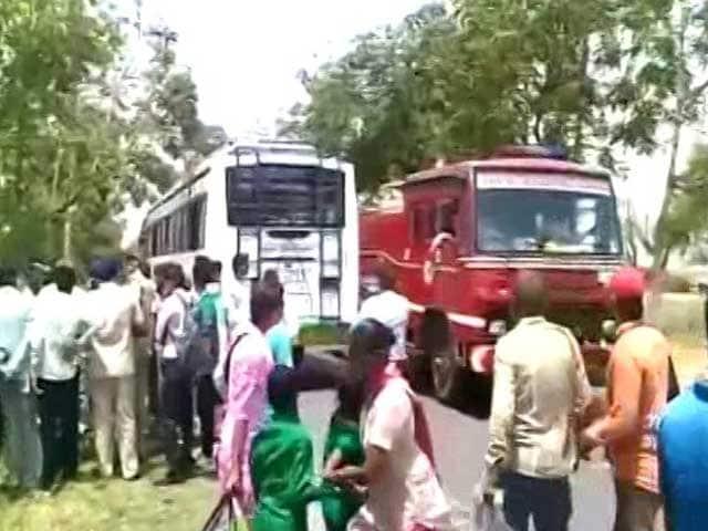 Video : हिसार के पास प्राइवेट बस में बम धमाका, संदिग्ध की तलाश