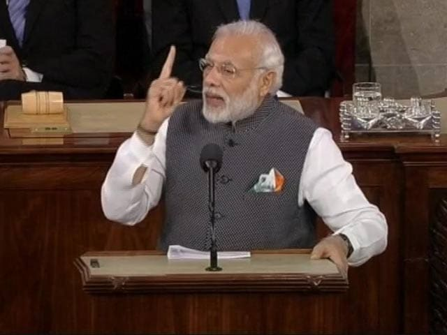 Video : 'Terror Incubated In India's Neighbourhood': PM Modi To US Congress