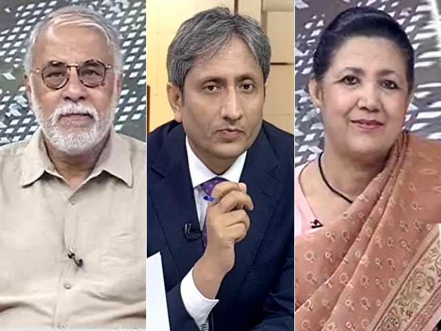 Video : प्राइम टाइम : क्या आतंकवाद को लेकर पाकिस्तान पर नकेल कसेगा अमेरिका?