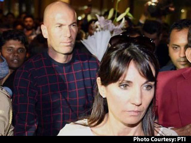 Zinedine Zidane Takes Mumbai by Storm
