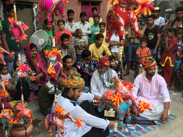 Video : In Delhi's 'Puppeteer Colony', Stalemate Strings Residents To Poverty