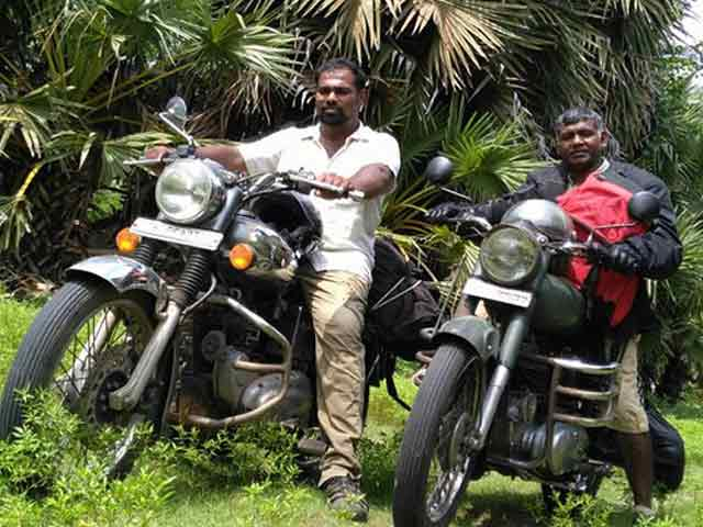 Video : Motorcycle Diaries: A Priest's Road Trip For Palm Trees
