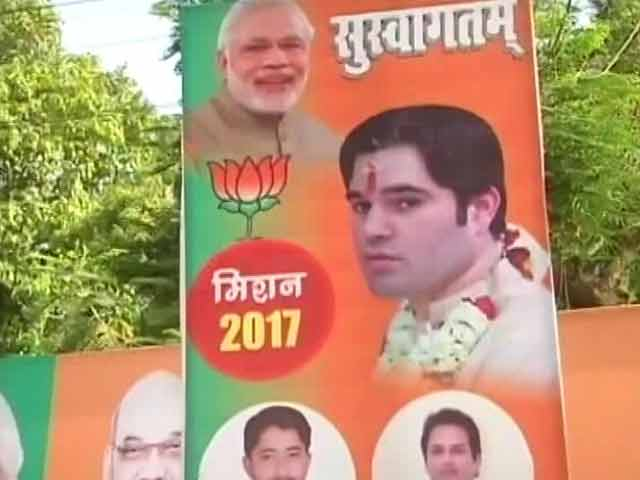 Video : Posters For Key BJP Meet In Allahabad Keep Up Suspense Over Party's Face In UP Polls