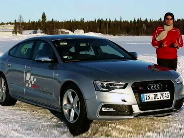 Video : Audi A5 & RS5 on Ice