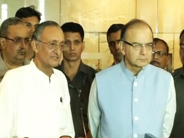 Video : Virtually All States On Board, Says Arun Jaitley After Big GST Meet