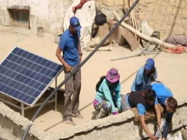 Video: Lighting Lives In Ladakh