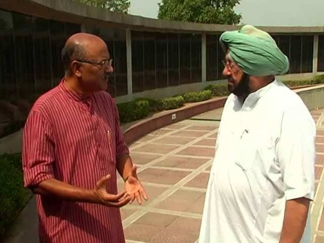 Video : Walk The Talk With Captain Amarinder Singh