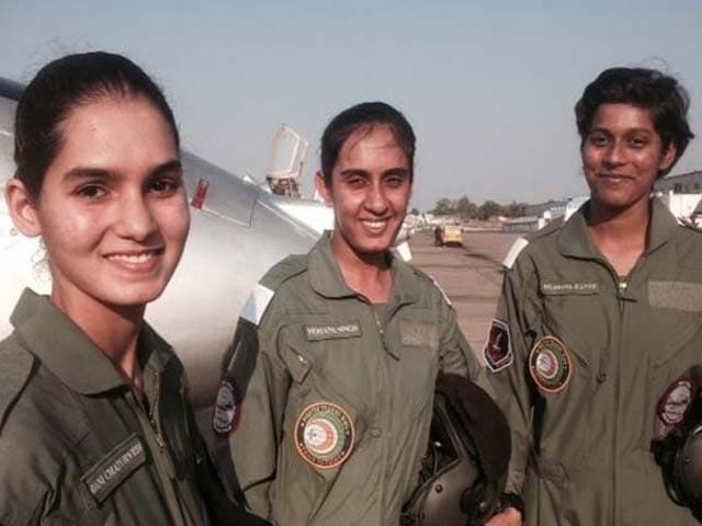 Video : India's First Women Fighter Pilots Get Wings