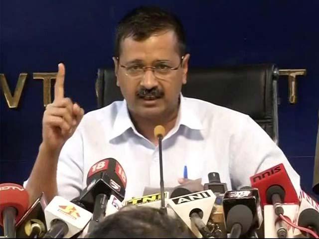 Video : 'Mr Modi, I Am Not Rahul, Sonia Gandhi Or Vadra': Kejriwal Attacks PM