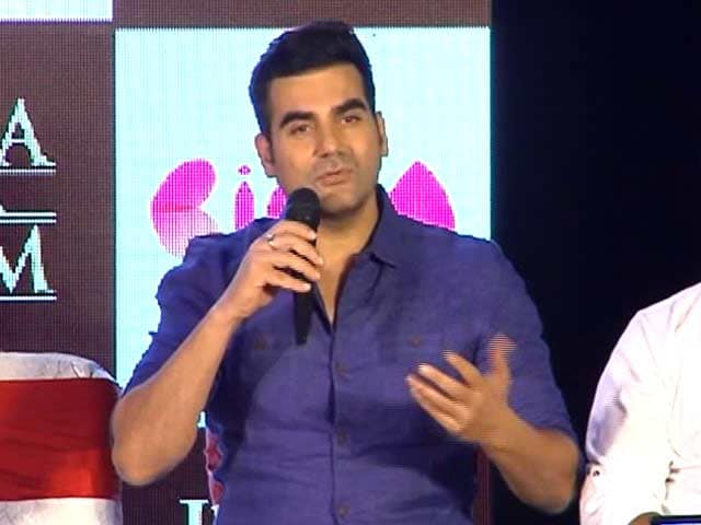 Video : Salman's Intentions Were Not Wrong: Arbaaz Khan