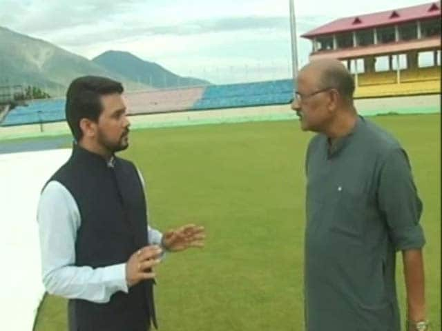 Video : Choice of Commentator Lies With Broadcaster, Not BCCI: Anurag Thakur