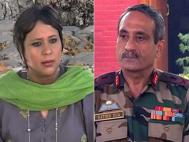 Video : If Separatism Strong, Why Do Thousands Want To Join Army: Lt Gen SK Dua