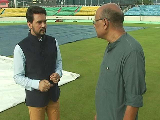 Video : Walk The Talk With Anurag Thakur, BCCI President (Part 1)