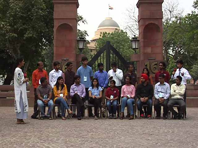 Video : On Campus At Rashtrapati Bhawan