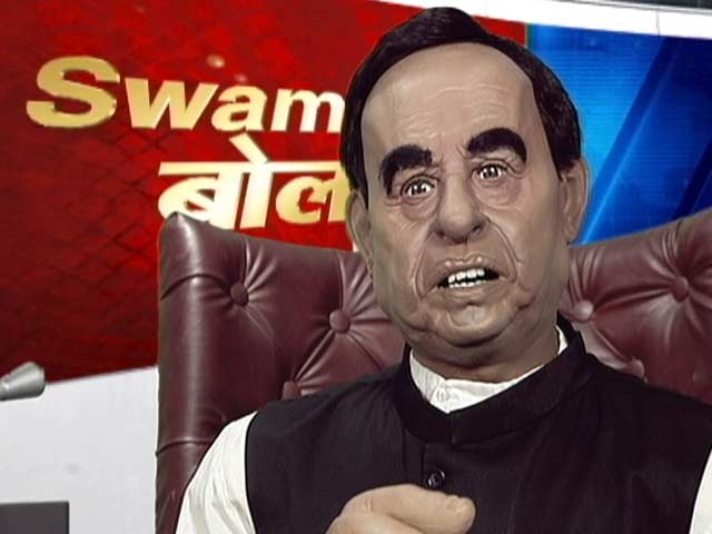 Video : Subramanian Swamy's 'Bol' Has An Opinion On Everything