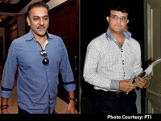 Video : Head Coach Selection Row: Was Sourav Ganguly Behind Ravi Shastri Snub?