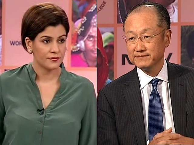 Video : PM Modi Has Set Difficult Targets, Driving His Team To Achieve Them: World Bank President