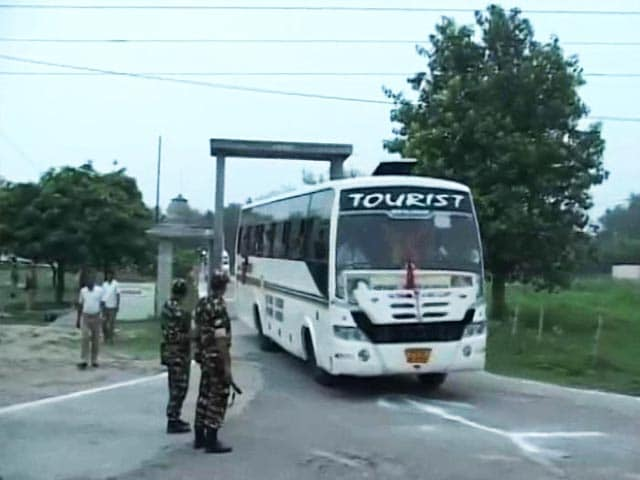 Video : First Batch Of 1,138 Pilgrims Leave Jammu For Amarnath Yatra