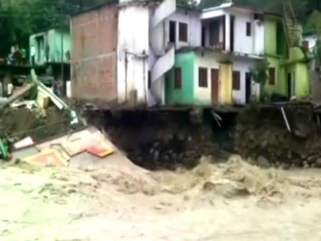 Video : 29 Dead, Many Missing After Cloudburst In Uttarakhand