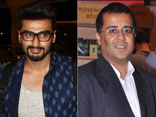 Video : I'm Chetan Bhagat's Superhero, Says Arjun Kapoor