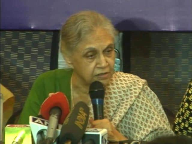 Video : 'Am UP's <i>Bahu</i>,' Says Sheila Dikshit About Running For Chief Minister