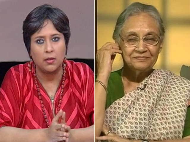 Video : Am No Scapegoat: Sheila Dikshit To NDTV On Running For Chief Minister