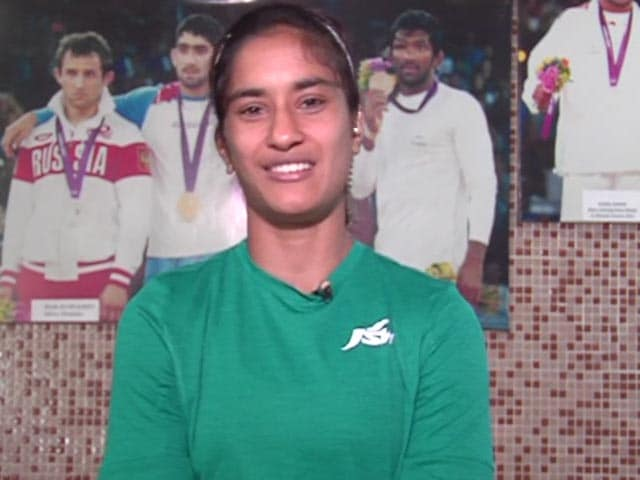 Video : Why Rio Bound Wrestler Vinesh Is A Huge Sania Mirza Fan