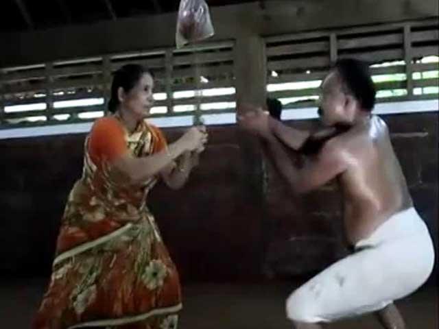 Video : Why Meenakshiamma, 73, Thinks Kalaripayattu Is Essential For Women Today