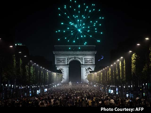 How France Celebrated Win Over Germany in Euro 2016 Semis