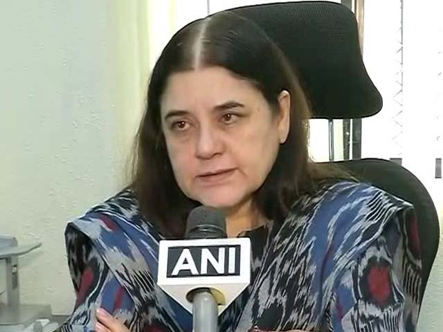 Video : In War Against Trolls, Maneka Gandhi Sets Up Cyber Cell