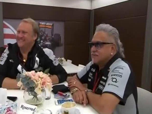 Video : Vijay Mallya Makes Rare Public Appearance In UK Ahead Of F1 Race