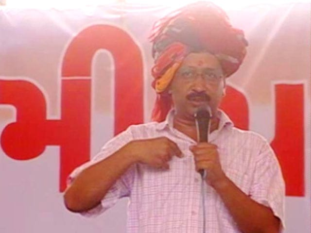 Video : With Visit To Somnath Temple, Kejriwal Starts Gujarat Poll Campaign