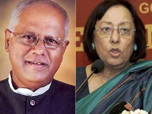 Video : Najma Heptulla And GM Siddeshwara Resign As Union Ministers
