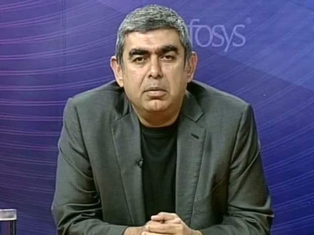 Video : Infosys CEO Vishal Sikka Explains Q1 Earnings Miss