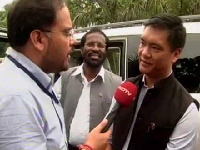 Video : To Hold On To Arunachal, Rahul Gandhi Puts New Man Pema Khandu In Charge
